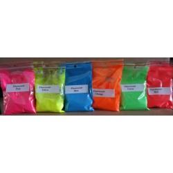 Pigmenty-kolory fluorescencyjne